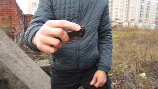 getlinkyoutube.com-Cold Steel Code 4. Tri-Ad Lock. Продолжение.