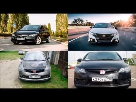 Honda Civic 4D vs Civic Type R FK2
