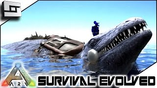 getlinkyoutube.com-ARK: Survival Evolved - MOSASAURUS TAMING! S2E42 ( Gameplay )