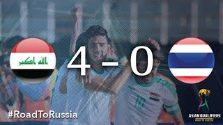 getlinkyoutube.com-Iraq vs Thailand (Asian Qualifiers - Road to Russia)