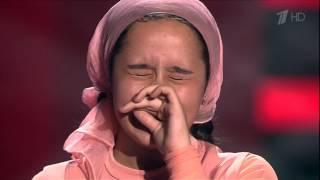 getlinkyoutube.com-Раяна Асланбекова - Derniere danse [Голос Дети-3 2016]