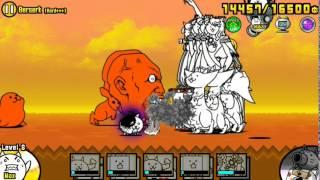 getlinkyoutube.com-The Battle Cats - Berserk (Hard+++)