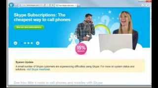 getlinkyoutube.com-Skype for Beginners - Getting Started