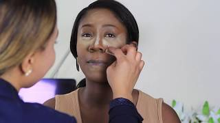 colourful makeup  tutorial for black women/dark skin |THE BEAUTICIANCHIC