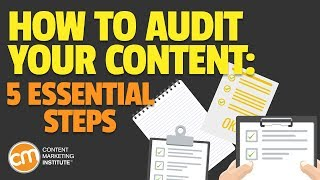 Content Marketing Audit