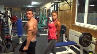 getlinkyoutube.com-Tim Gabel Posing vs Sophia Thiel in München - TeamG