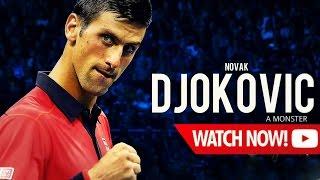 getlinkyoutube.com-Novak Djokovic - A monster ᴴᴰ