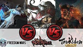 getlinkyoutube.com-Freedom Wars vs. Soul Sacrifice Delta vs. Toukiden Kiwami: Whats the Best Hunter on the PS Vita?