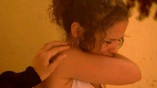 getlinkyoutube.com-Lauren Tries To Burn Off Her Birthmark With Bleach | Waterloo Road [Longer, Improved Version]