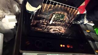 Reballing artigianale con forno domestico