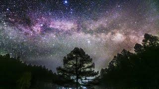 getlinkyoutube.com-星空のある風景 タイムラプス#47 ~ 雲間の天の川/長野県湯の丸高原 ~  Starry Night Timelapse #47 星景微速度撮影