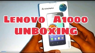 LENOVO A1000 ™ ( Unboxing ) [ Best Low Budget phone 2017 ] width=