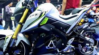 getlinkyoutube.com-2016 YAMAHA M-SLAZ 150CC WALKAROUND