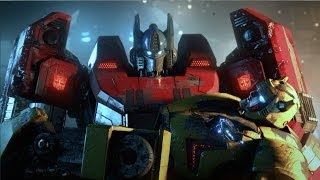 getlinkyoutube.com-Transformers Fall of Cybertron Full Movie All Cutscenes