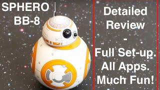 getlinkyoutube.com-Sphero BB-8 - Detailed play-test Review + Unboxing, Set-up, Fun + Tips for Sphero BB8