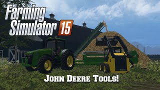 getlinkyoutube.com-Farming Simulator 2015: Mod Spotlight #36: John Deere Tools!