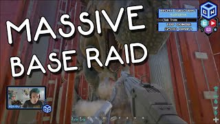 getlinkyoutube.com-ARK: Survival Evolved - The Massive Base Raid!