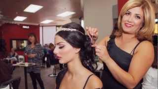 getlinkyoutube.com-Negah Magazine's Bridal Expo 2012- Hair and Make-up by Azalea Salon and Spa