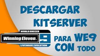 descargar kitserver para el winning eleven 9 e instalarlo con todo 2017