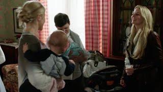 getlinkyoutube.com-OUAT - 4x07 'Emma, you missed the goodbye song!' [Emma, Snow, Neal, Ashley & Aurora]