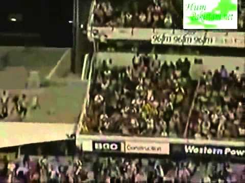 Shahid Afridi LONGEST 145 Meter SIX at Melbourne 2007