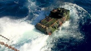 getlinkyoutube.com-US Marine Corps Amphibious Assault Vehicles