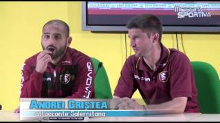 Messina-Salernitana 4-2. Negro e Cristea commentano le loro reti