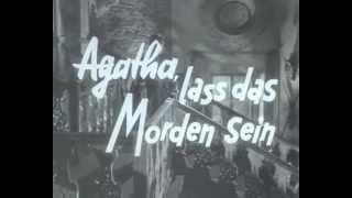 Agatha lass das Morden sein! - Jetzt auf DVD! - Klausjürgen Wussow, Wolfgang Kieling - Filmjuwelen