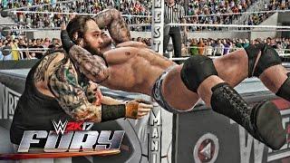 getlinkyoutube.com-WWE 2K17 Fury - RKO's Outta Nowhere!