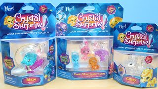 getlinkyoutube.com-Crystal Surprise Lucky Sparkling Pets with Surprise Charms To Collect