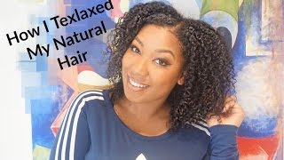 getlinkyoutube.com-How I Texlax my Natural Hair using Just For Me