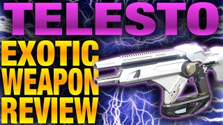 getlinkyoutube.com-Destiny - TELESTO Exotic Weapon Review - Best Perks for the Telesto - Telesto Review
