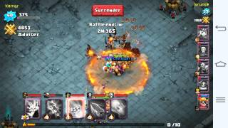 getlinkyoutube.com-Clash Of Lords 2 How To Get To A High Level In Hero Arena Easy