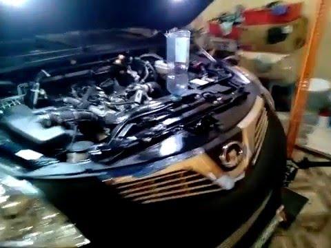 Стравливаем воздух с системы охлаждения двигателя 4D20 Hover H5 DT MT