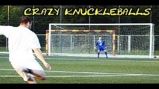 getlinkyoutube.com-CRAZY KNUCKLEBALL Free Kick GOALS | Freistoss Flatterbälle extratraining