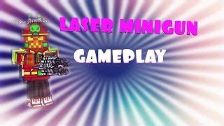 getlinkyoutube.com-Pixel Gun 3D Laser Minigun (GAMEPLAY)