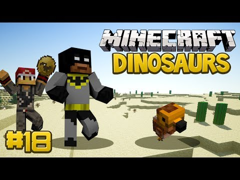 Minecraft Dinosaurs Mod (Fossils and Archaeology) Series, Episode 18 - Dodo Birds?
