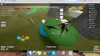 getlinkyoutube.com-Dinosaur Simulator - Some other glitches and codes