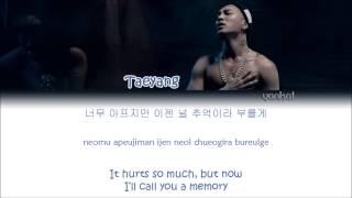 getlinkyoutube.com-TAEYANG (태양) – Eyes, Nose, Lips (눈, 코, 입) (Color Coded Han|Rom|Eng Lyrics)