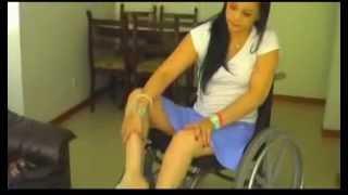 getlinkyoutube.com-Paraplegic Loreena faulters in her recovery