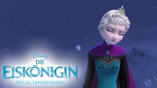 getlinkyoutube.com-Let It Go - Sing Along - Song: DIE EISKÖNIGIN - VÖLLIG UNVERFROREN - Music: Frozen - Disney