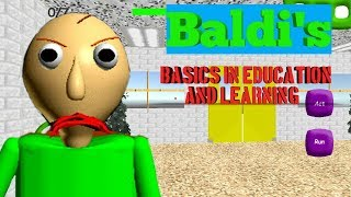 Baldi's Basics In Education And Learning Full Gameplay