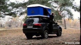 getlinkyoutube.com-Палатка на крышу автомобиля Maggiolina Airlander