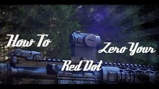 getlinkyoutube.com-How To Zero A Red Dot Optic (Aimpoint PRO) In HD