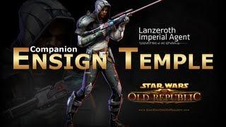 getlinkyoutube.com-SWTOR: Imperial Agent - Ensign Raina Temple Romance Conversations