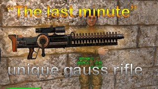 "getlinkyoutube.com-Fallout 4 where to find the legendary gauss rifle ""The Last Minute"""