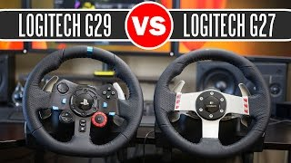 getlinkyoutube.com-Logitech G29 Driving Force Racing Wheel vs Logitech G27 Force Feedback Wheel - Full Comparison