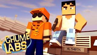 getlinkyoutube.com-Minecraft: ENTRAMOS NO GTA! (Chume Labs 2 #18)