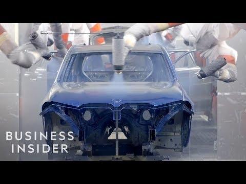 Quy trình BMW sản xuất 1.400 chiếc SUV mỗi ngày