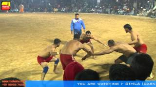 getlinkyoutube.com-BIHLA (Barnala) ! KABADDI CUP - 2016 ! OPEN 3rd QUARTER FINAL ! BAGGA PIND v/s KALSIAN ! Part 4th